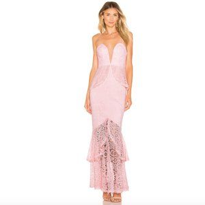 Lovers + Friends | NWT Spring Tide Gown Light Pink